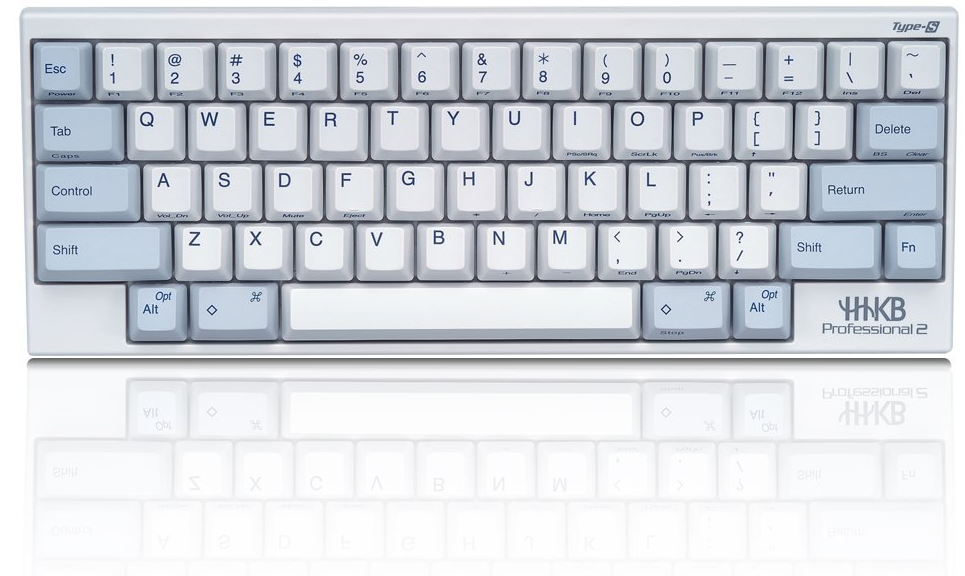 HHKB Pro2 Type-S 白色有刻