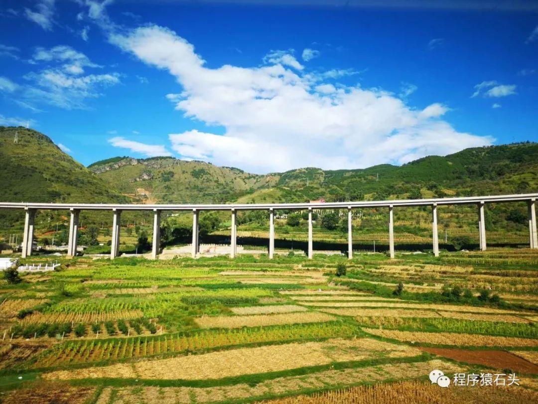 昆明至丽江沿途风景