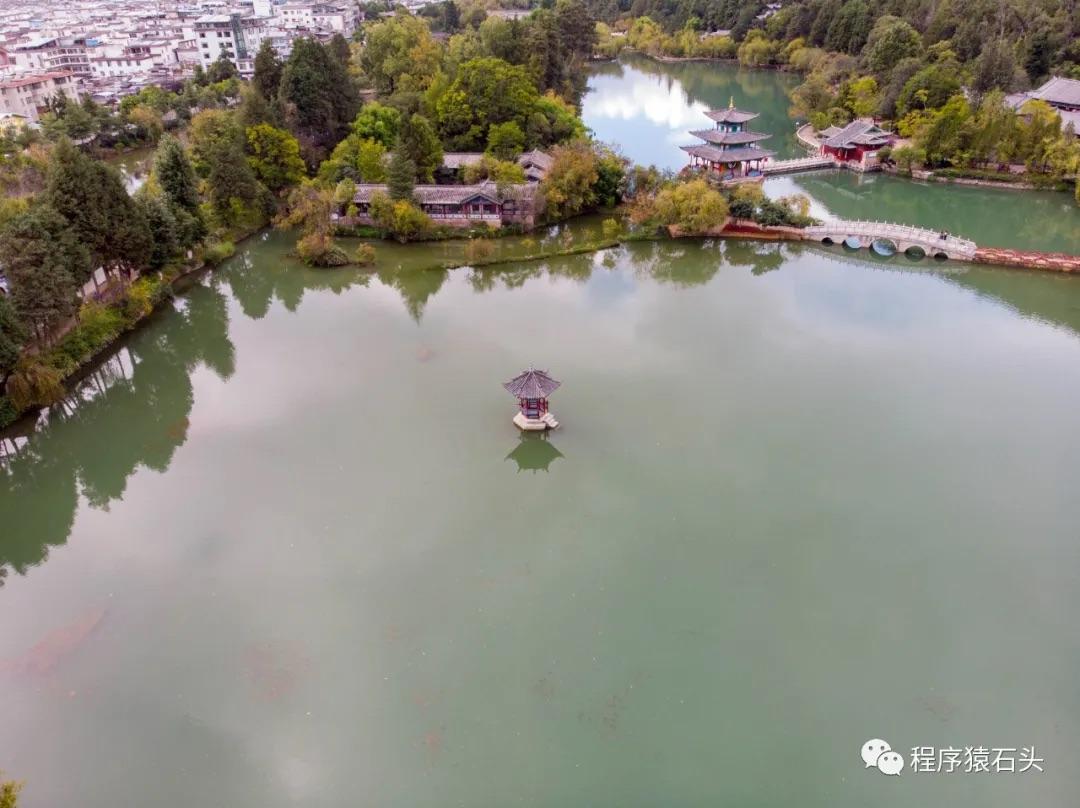 黑龙潭公园航拍