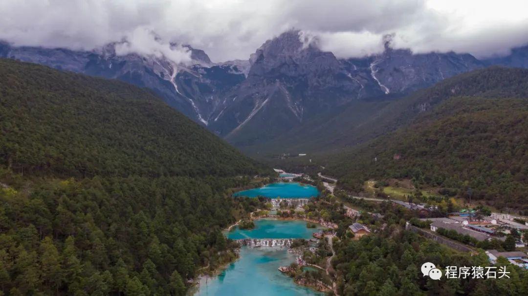 玉龙雪山——蓝月谷航拍